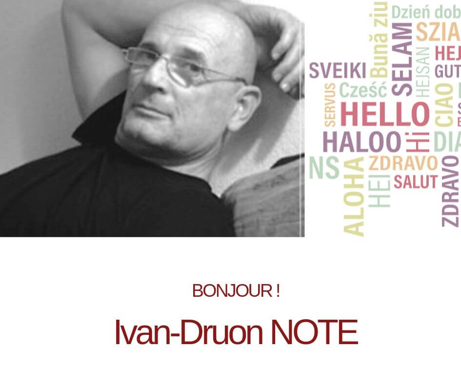Photo d'Ivan-Druon Note, co-fondateur et co-dirigeant d'Ipsyturn Strategia